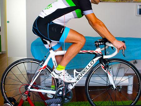 Poner a medida la bicicleta, ajuste biomecánico en Elgoibar-Gipuzkoa